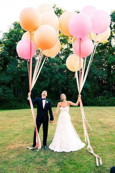 balloon wedding