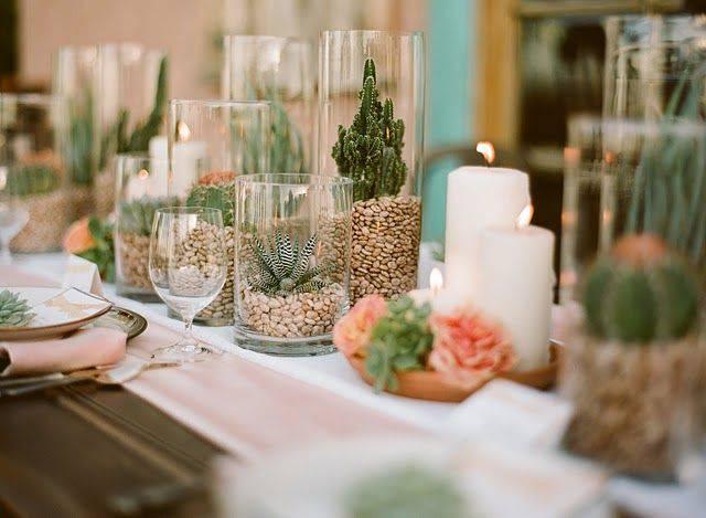 centre de table mariage