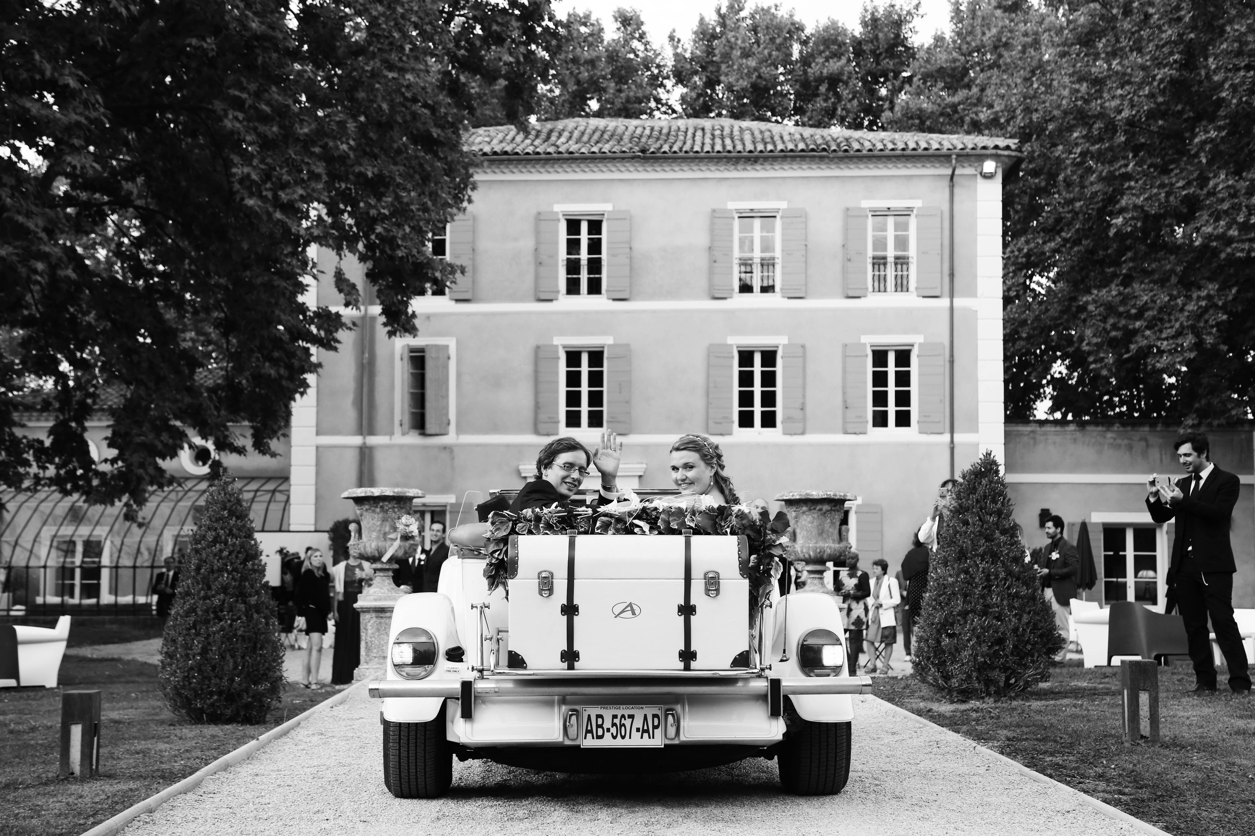 mariage aix en provence - Julie et Olivier