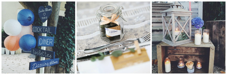 décoration de mariage luberon