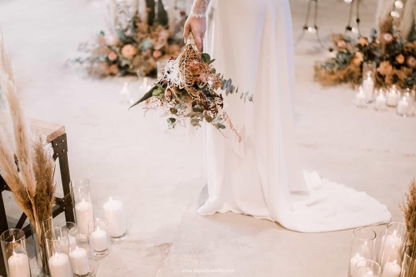 Shooting d'inspiration: un mariage Kinfolk en Provence