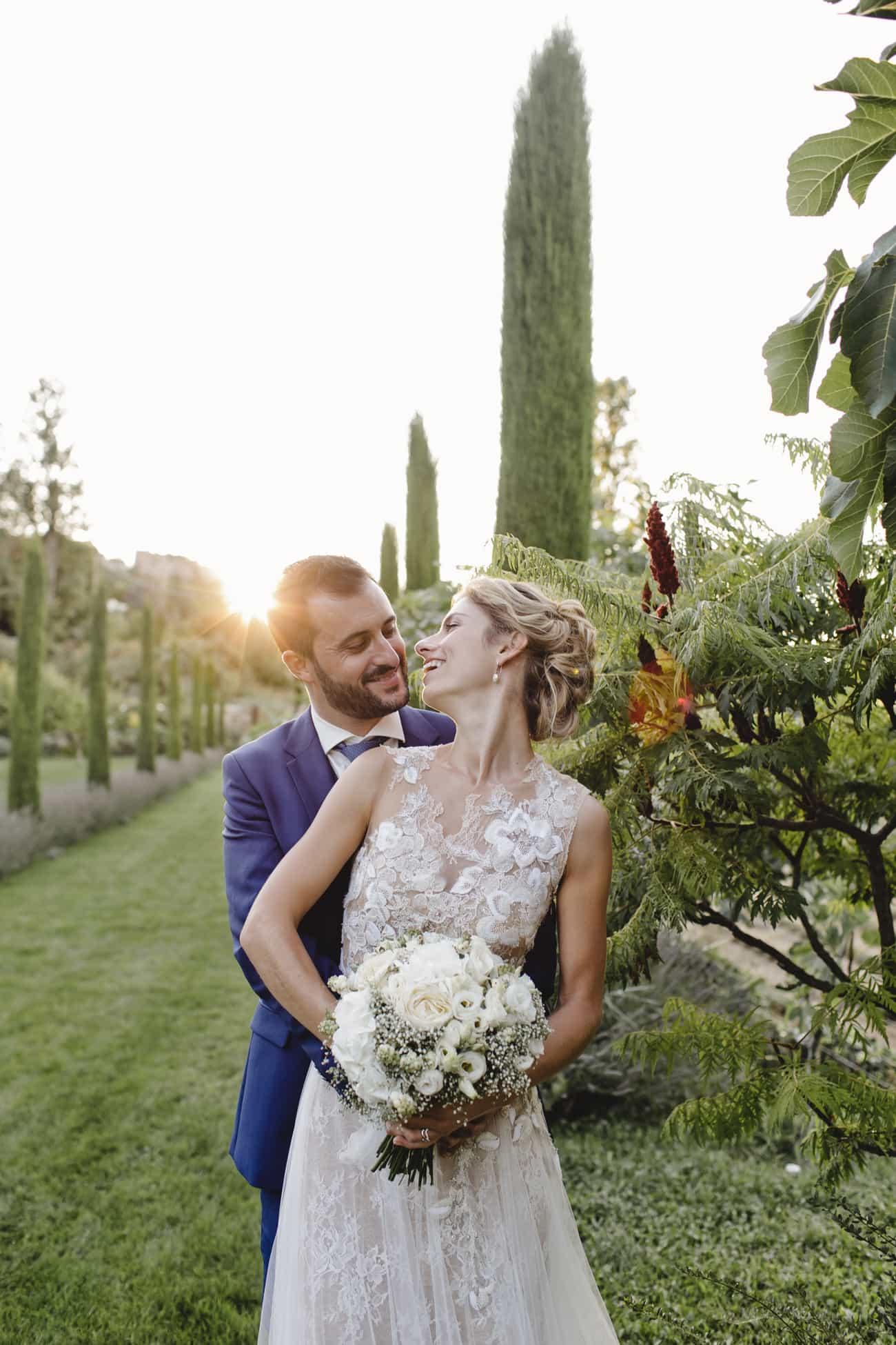 Un mariage doux et romantique pour Caroline et Benoit