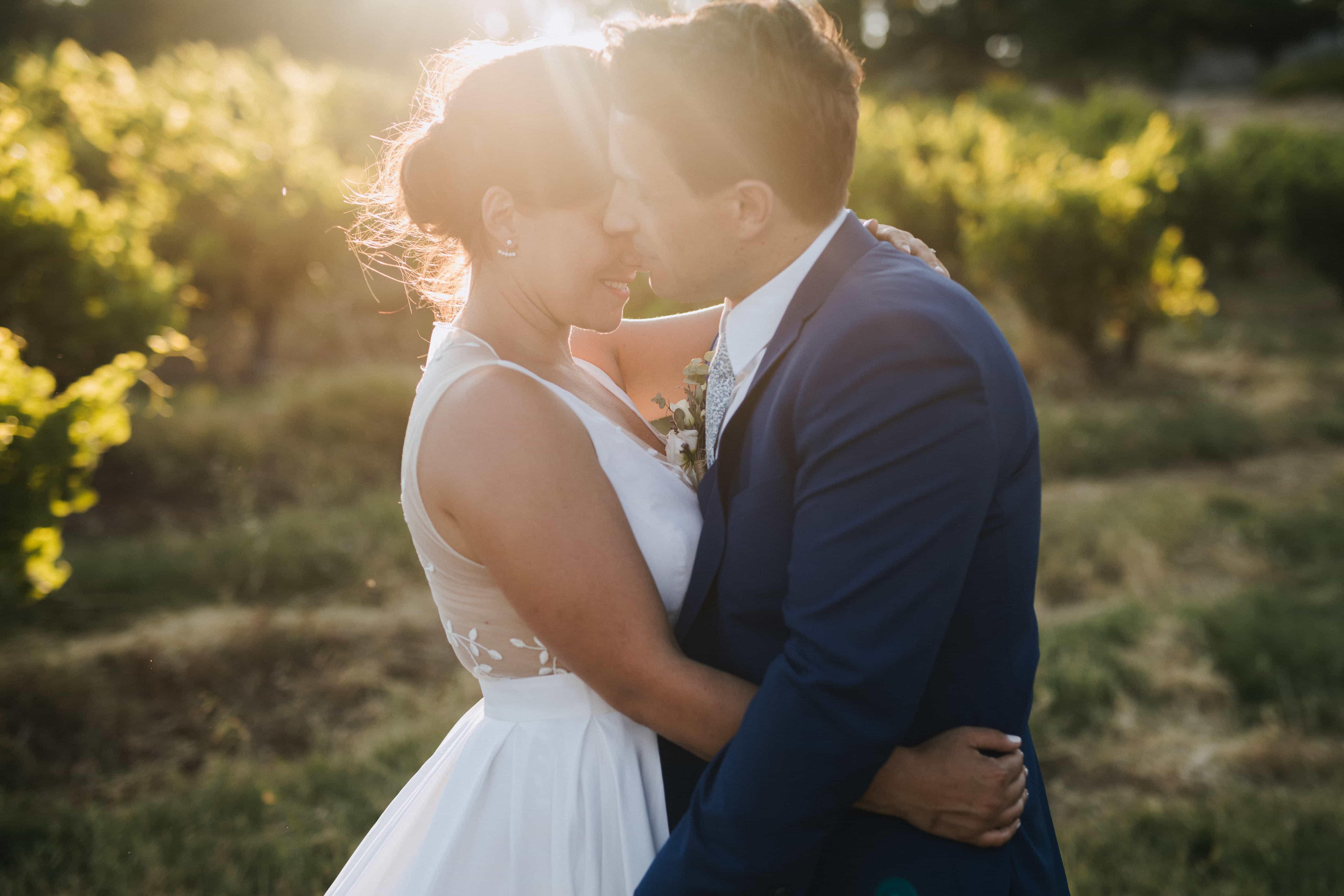La décoration de mariage d'Audrey et Michael