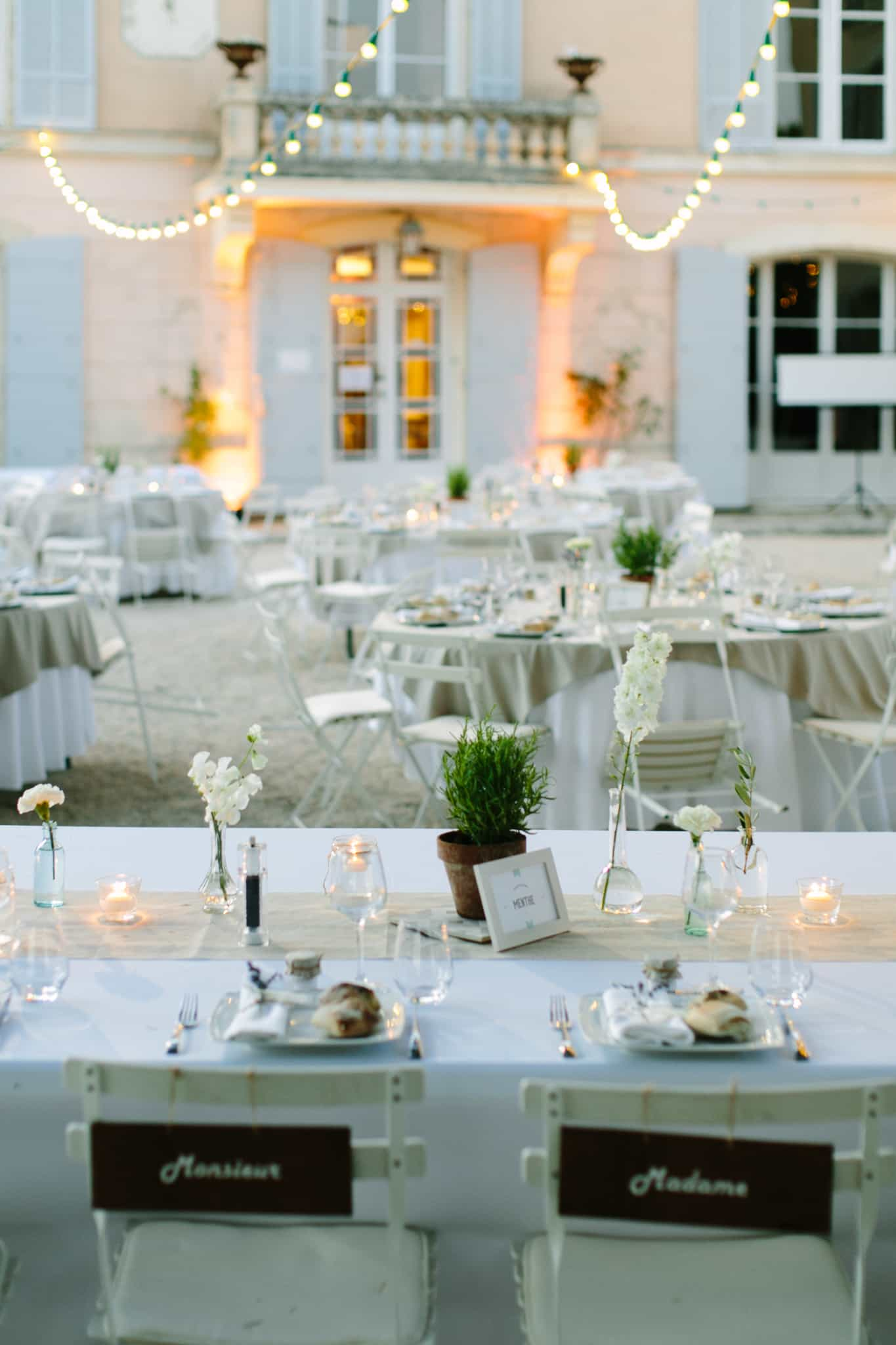 Cigales et Petits Fours - Mariage Provence