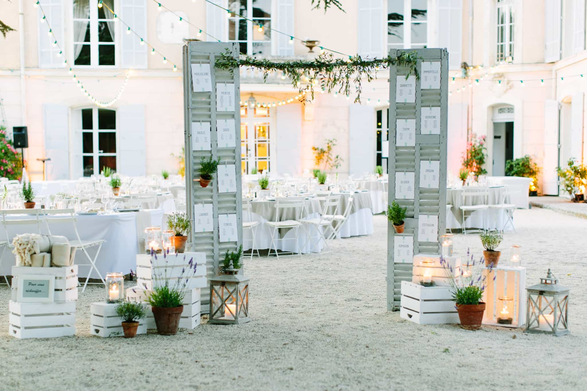 Cigales et Petits Fours - Mariages Provence