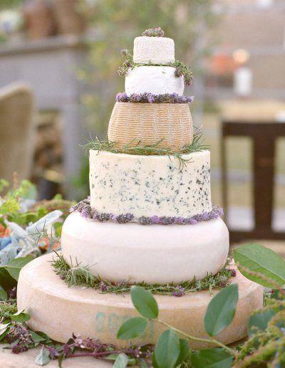 Cigales et Petits Fours - Pièce montée de fromage