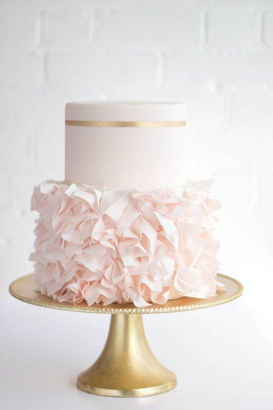 Cigales et Petits Fours - Gâteau de mariage