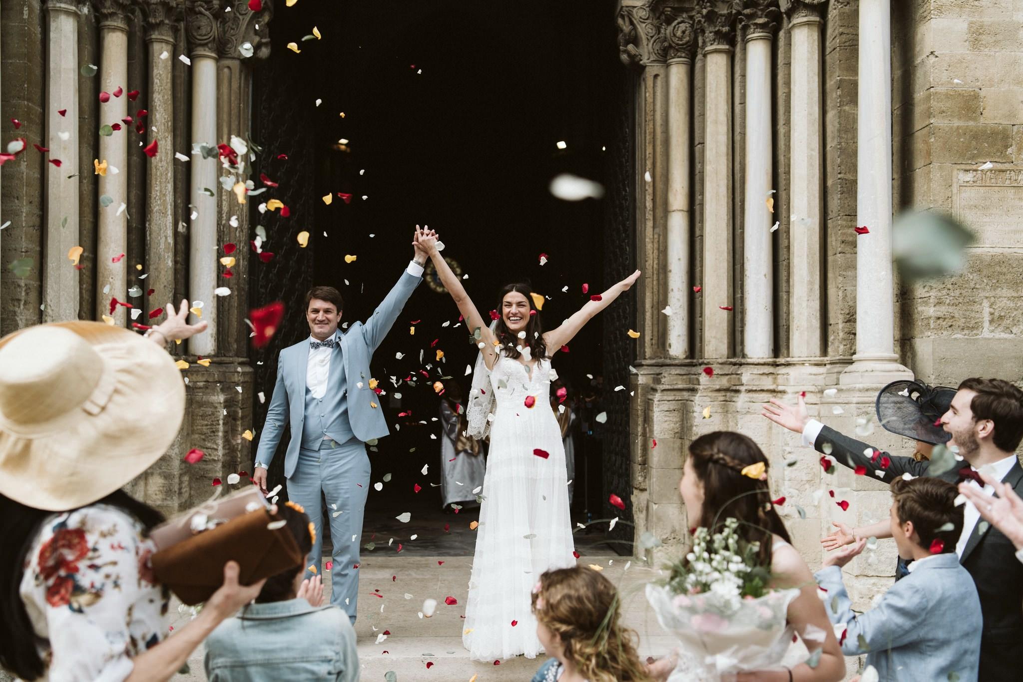 Organiser un mariage en Provence : Le joli jour d'Angélique et Sébastien