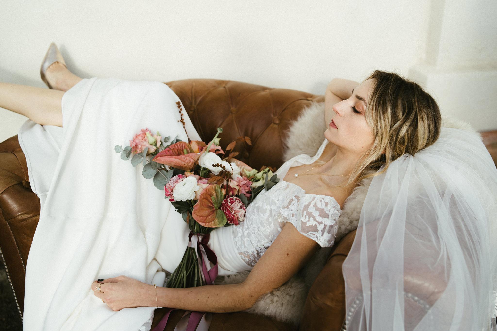 Shooting d'inspiration mariage : Cœur Sauvage Terracota